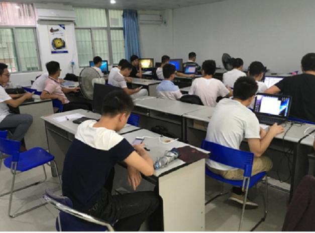 江西好帮手电子科技有限公司莅临信盈达深圳民治中心挖程序员啦