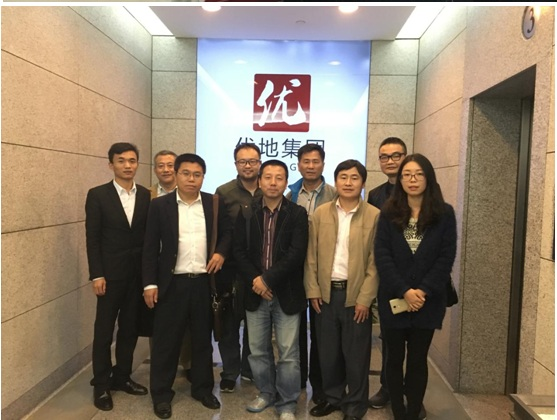信盈达2016合作院校海洋大学领导企业参观圆满成功